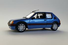 peugeot 205 gti peugeot 205 gti 1990 1 43 scale diecast model car maxichamps