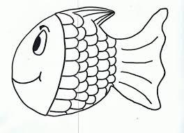 rainbow template free rainbow fish template pdf 2