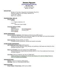 Resume Achievement Examples by Resume Free Cv Format Template Nanny Letter Of Employment Sample