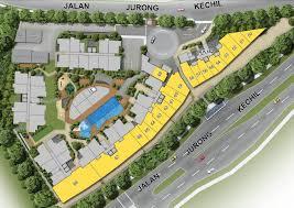 site plan the hillford site plan the hillford condo jalan jurong kechil