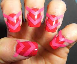 deez nailz chevron nails