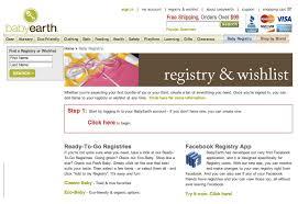 baby registeries babyearth baby registry inhabitots