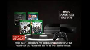 black friday 2014 xbox one xbox one four game bundle just 300 at game for black friday