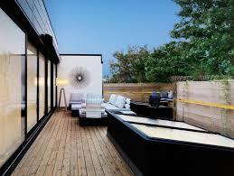 rooftop deck design ideas home design ideas rooftop deck design ideas example of a classic rooftop deck design in portland with a fire