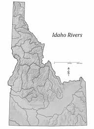 Map Of Idaho State by Digital Geology Of Idaho