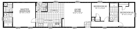 single wide mobile home floor plans single wide homes cairo ny