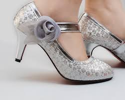 silver shoes for bridesmaids silver wedding shoes ideal weddings