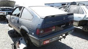custom honda crx junkyard treasure 1986 honda civic crx hf autoweek