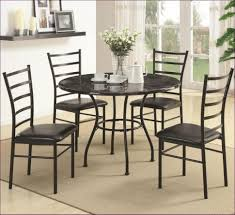 dining room patterned dining chairs rustic round kitchen table