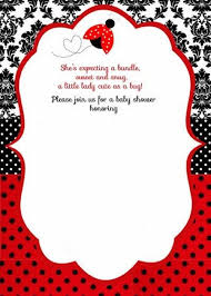 ladybug baby shower ladybug baby shower invitation template 2 invitations online
