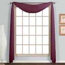 Burgundy Valances For Windows Valances Window Treatments Home Decor Kohl U0027s