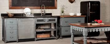 deco industrielle atelier table cuisine style industriel galerie avec meuble de cuisine