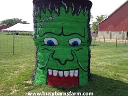 81 best fun haybales images on pinterest hay bales straw bales