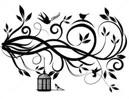 flourish svg swirl lines ornamental borders scalabe vector