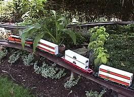 g scale garden train layouts chuck runs o scale trains in the