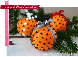 orange clove pomanders a pretty in the suburbs