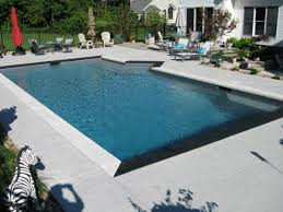 breathtaking swimming pool rubber decking with vinyl liner