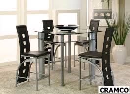 valencia pub height 5 piece dinette set