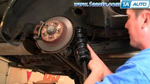 nissan sentra lowering springs how to install replace rear struts and springs 2002 03 nissan