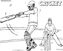 cricket game coloring pages coloring pages to download and print