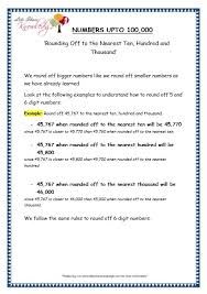 grade 4 maths resources 1 3 rounding off to the nearest ten