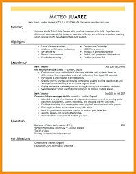 middle management examples sample resumes for college students good resume a example template