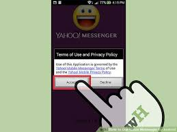 yahoo messenger app for android how to use yahoo messenger for android 7 steps with pictures