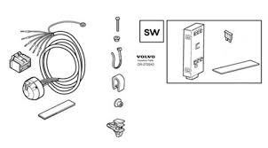 13 pin towbar wiring u0026 trailer module c30