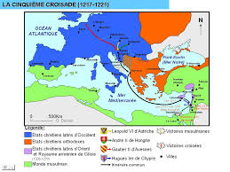 Map Of Al Today In History 28 August 1221 Crusaders Defeated At Battle Of