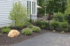 R R Landscaping by Doylestown Raised Patio R U0026r Caddick Landscape Design