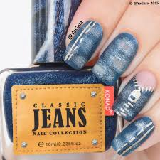 ripped jeans konad nail polish from jeans collection