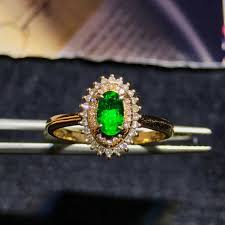 emerald gemstone rings images Hot sale gemstone jewelry factory wholesale classic luxury 18k jpg