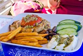 cuisine grecque traditionnelle nourriture grecque traditionnelle image stock image 49692697