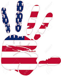American Flag Pictures Free Download America Flag Hand Prints Clipart