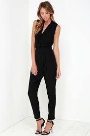 black sleeveless jumpsuit stylish black jumpsuit sleeveless jumpsuit black romper 54 00