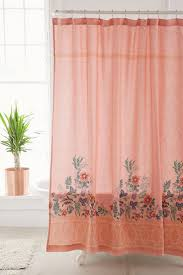 Pink Gingham Shower Curtain Top 25 Best Peach Curtains Ideas On Pinterest Peach Nursery