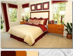 Red And Brown Bedroom Decor Ideas To Mix And Match Bedroom Furnishing