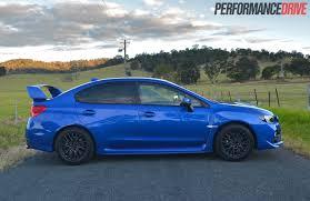 subaru wrx custom blue 2014 subaru wrx sti review video performancedrive