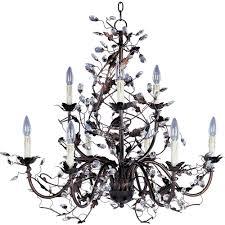 maxim lighting elegante 9 light oil rubbed bronze chandelier