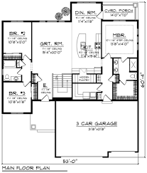 delighful 3 car garage house plans a design at three plan aust