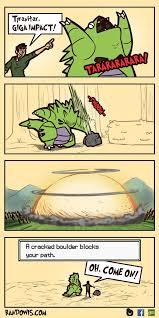Pokemon Logic Meme - tyranitar was actually the best though web comics 4koma comic