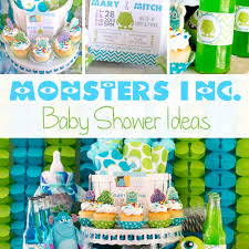 inc baby shower monsters inc baby shower ideas
