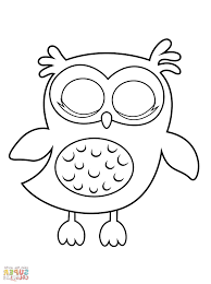 owl coloring pages free stunning owl babies coloring page with