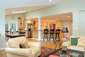 apartments open concept house plans bungalow open plan house