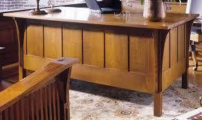 mission furniture desk drk architects