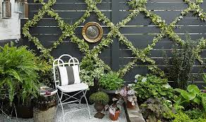 Simple Garden Ideas For Backyard An Insanely Chic And Simple Garden Trellis Diy