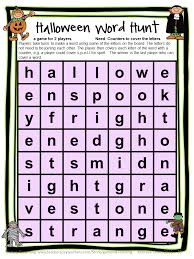 fun games 4 learning halloween literacy freebies