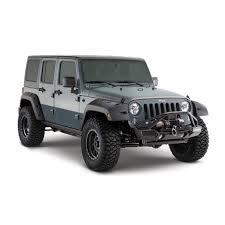 2011 jeep wrangler fender flares bushwacker factory coverage 9 5 width front pocket style fender