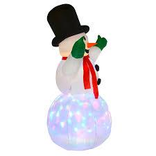 6ft tall inflatable snowman christmas outdoor decoration garden