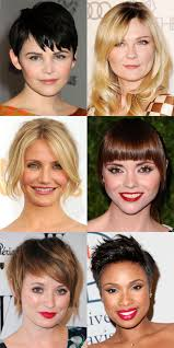 hair styles for head shapes the best and worst bangs for round face shapes face shapes